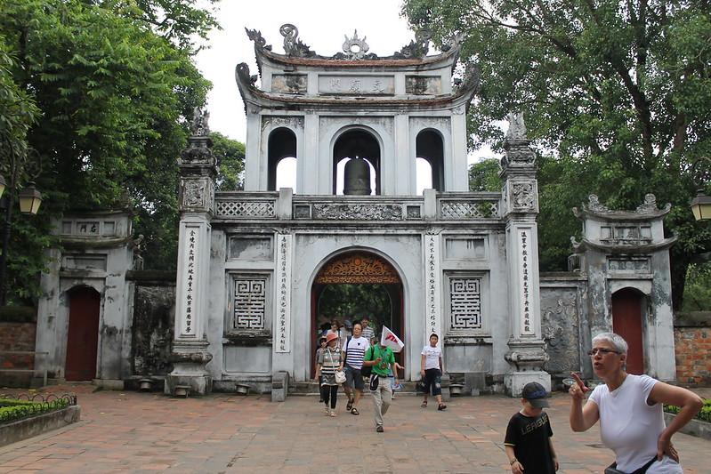 Great Gate, Văn Miếu - Temple of Literature, Hà Nội