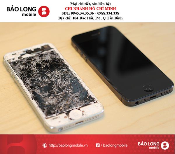 """Nhận biết được màn hình """"dỏm""""sau khi đi thay màn hình iPhone 5s"""