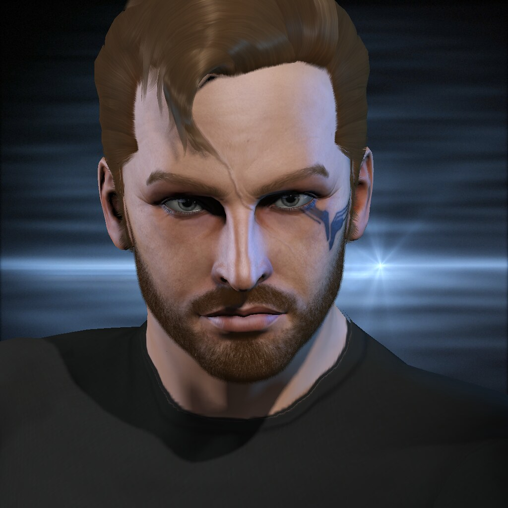 eve online character portrait man 11 gallente disguise as flickr