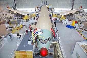 TAM A350-900 ensamblaje (Airbus)
