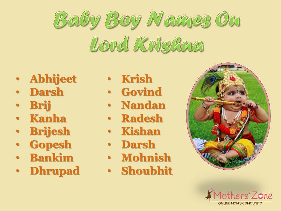 hindu boy names krishna