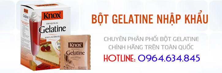 Mua Bột Gelatin Chính Hãng Ở Đâu - 0964.634.845