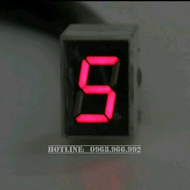 Báo số điện tử LED - Số 5