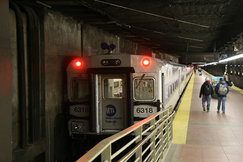 Metro-North Railroad Shoreliner IV in Grandcentral station, New York, New York, US /Jan 24, 2017