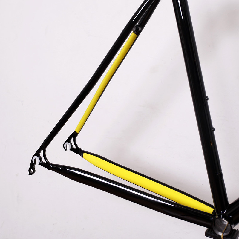 Kualis Cycles Steel Frame & Fork Painted by Swamp Things