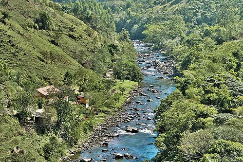 Rio Macaé em Lumiar, Nova Friburgo