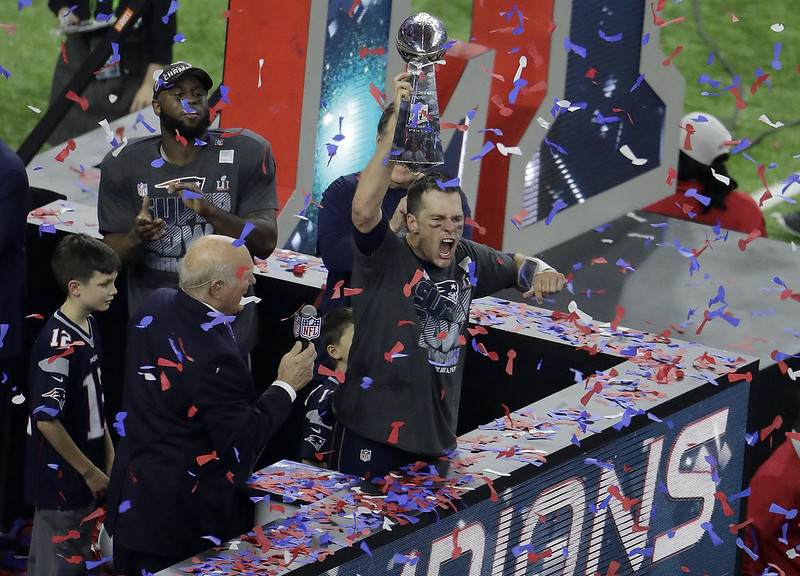 愛國者傳奇四分衛Tom Brady。(達志影像資料照)