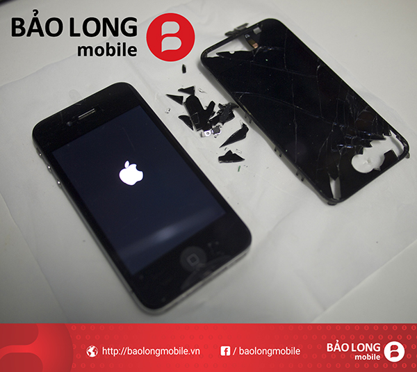 Thay màn hình iphone 4 - giá bao nhiêu, cần thay ở đâu?