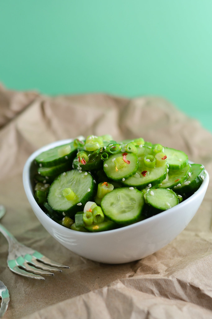 Cucumber Sesame Salad | Things I Made Today