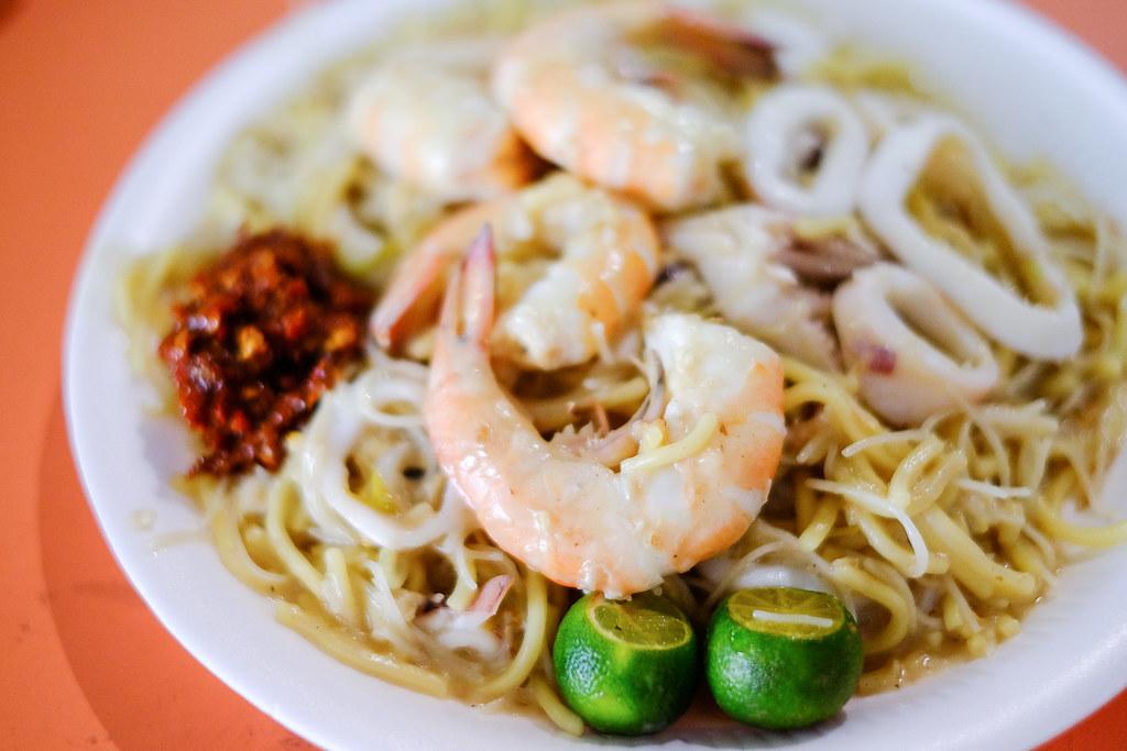 Yi Sheng Fried Hokkien Prawn Mee: Prawn Mee