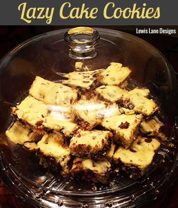 Lazy Cake Cookies by Lewis Lane