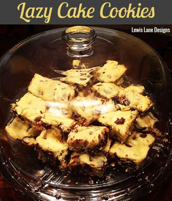 Lazy Cake Cookies by Lewis Lane