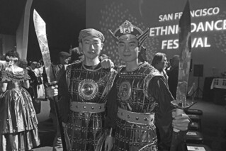 San Francisco Ethnic Dance Festival - Chinese soldier dancers