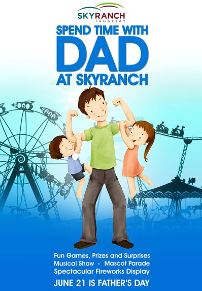 Sky Ranch Father's Day Poster B