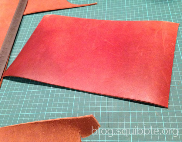 DIY Leather Sketchbook Covers