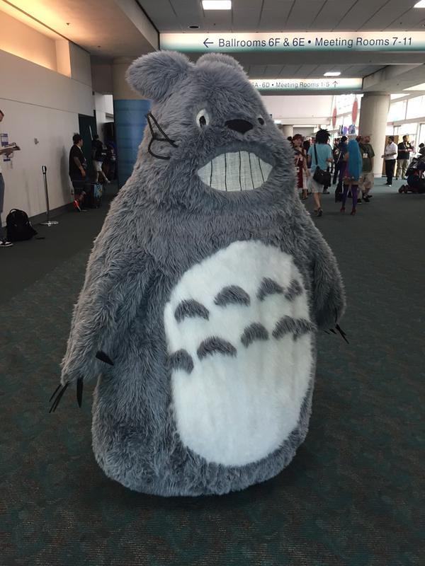San Diego Comic-Con 2015 Cosplay - Totoro