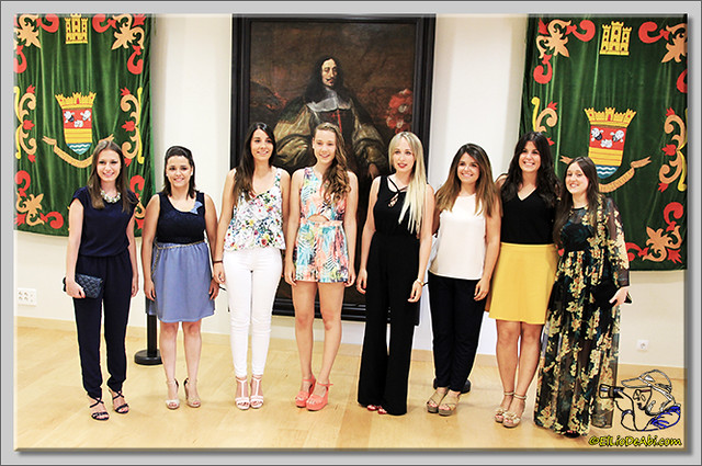 9 Reinas de Briviesca Fiestas 2015