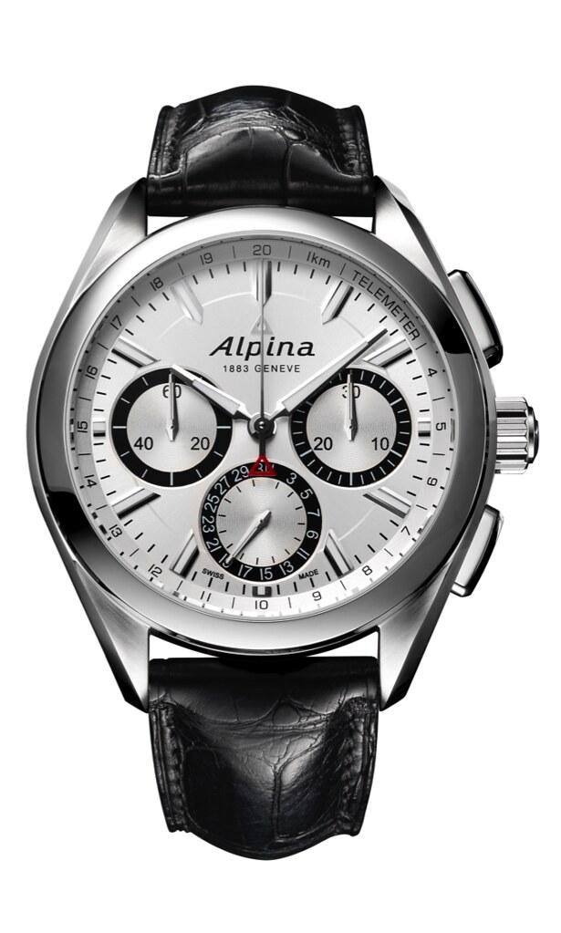 Alpina - Avis Alpina Alpiner 4 Chronographe Flyback Manufacature 20084698246_3d3b7458fe_b