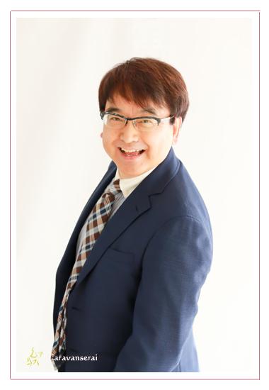 プロフィール写真撮影 ビジネス・仕事用 アナウンサー 司会者 出張撮影 夫婦撮影 池戸陽平