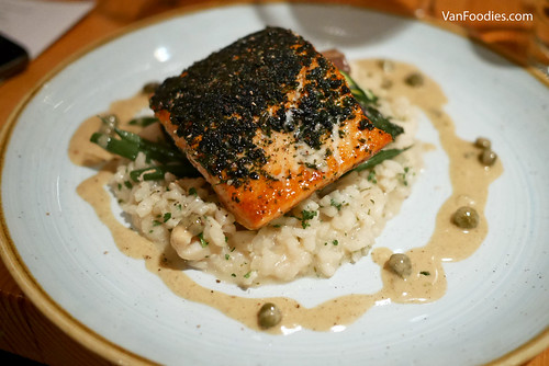 Herb-Crusted Wild Coho Salmon
