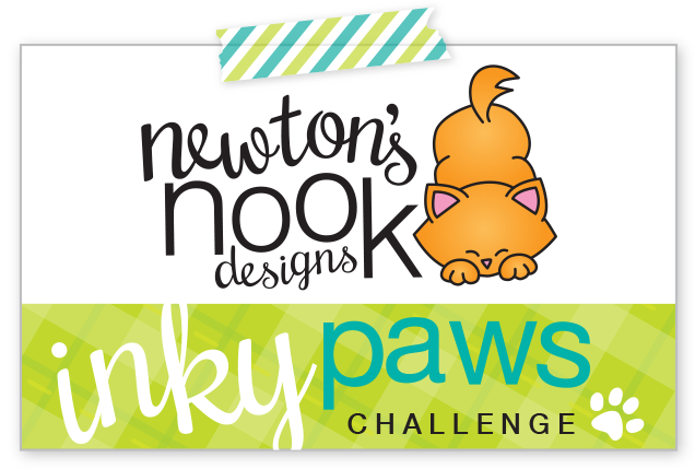 Newton's Nook Designs Inky Paws Challenge #01 Logo
