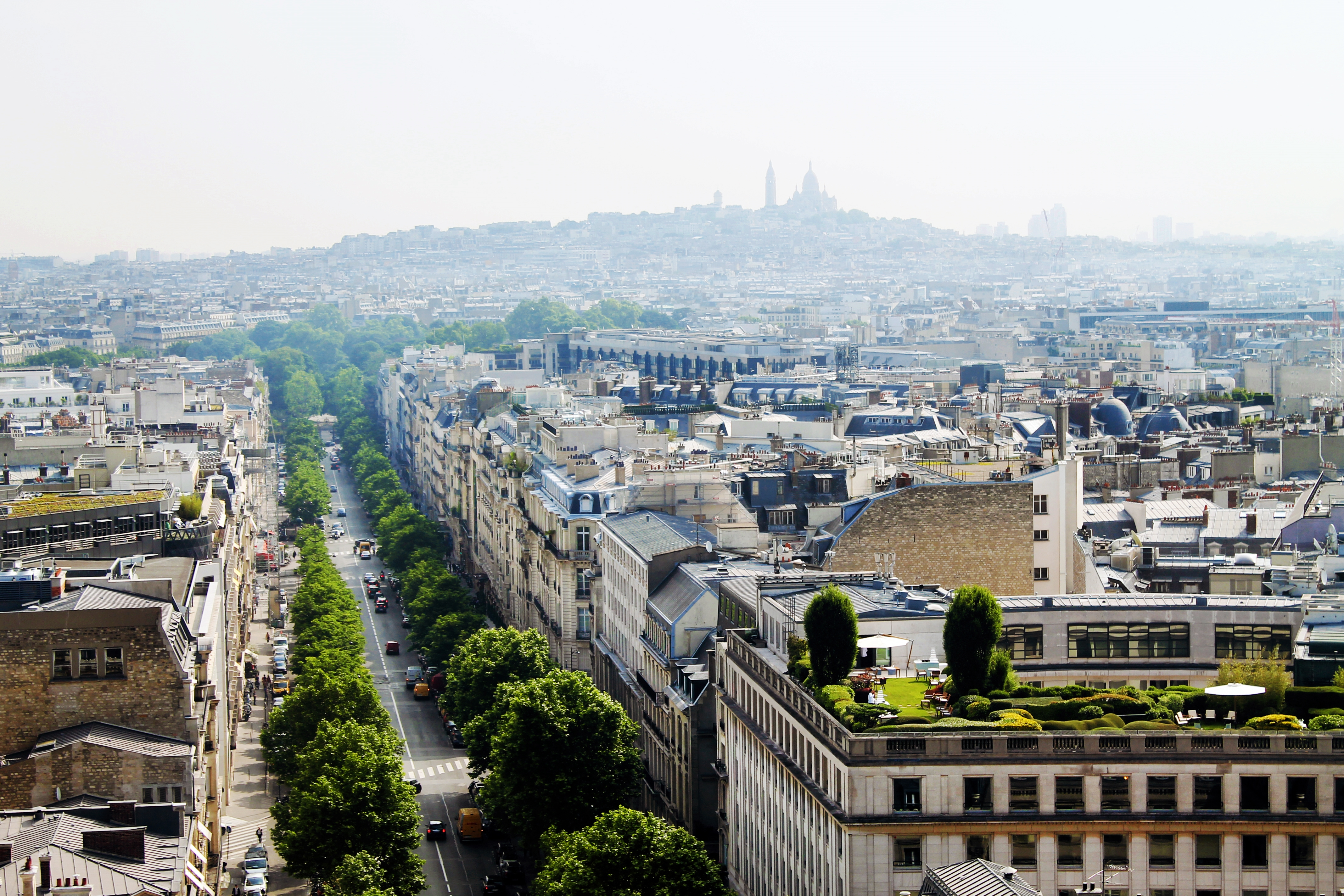 As 5 melhores vistas panorâmicas de Paris - Arco do Triunfo