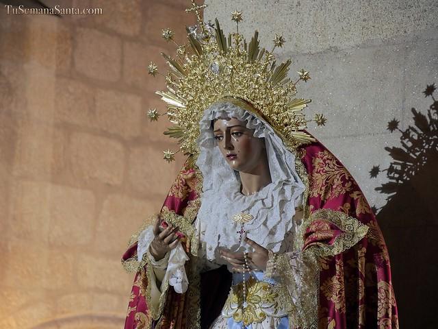 Ntra. Sra. del Sagrario en la Candelaria