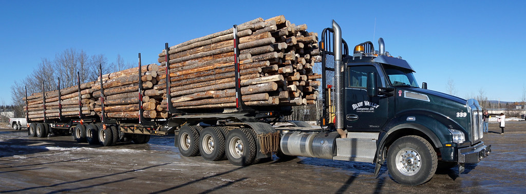 Truck For Sale >> Logging trailers built in Vanderhoof a boon to industry | Flickr