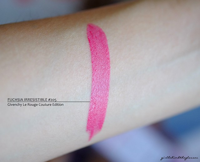 Givenchy Le Rouge Couture Edition swatch