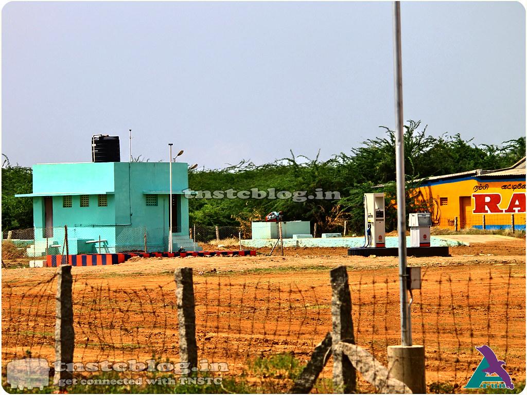 Cheranmahadevi Depot  Diesel filling Point + Service area