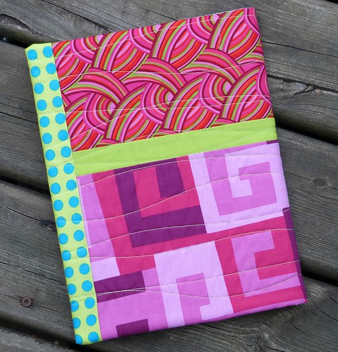 Pink notebook cover front