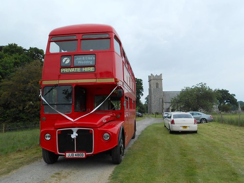 First Great Yarmouth JJD480D on Wedding Duties