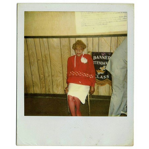 Banner Attendance Class? #found #foundphoto #Chicago #selfstorage #nofilter #film #archive #vintagestyle #vintage #poloroid #instantcamera