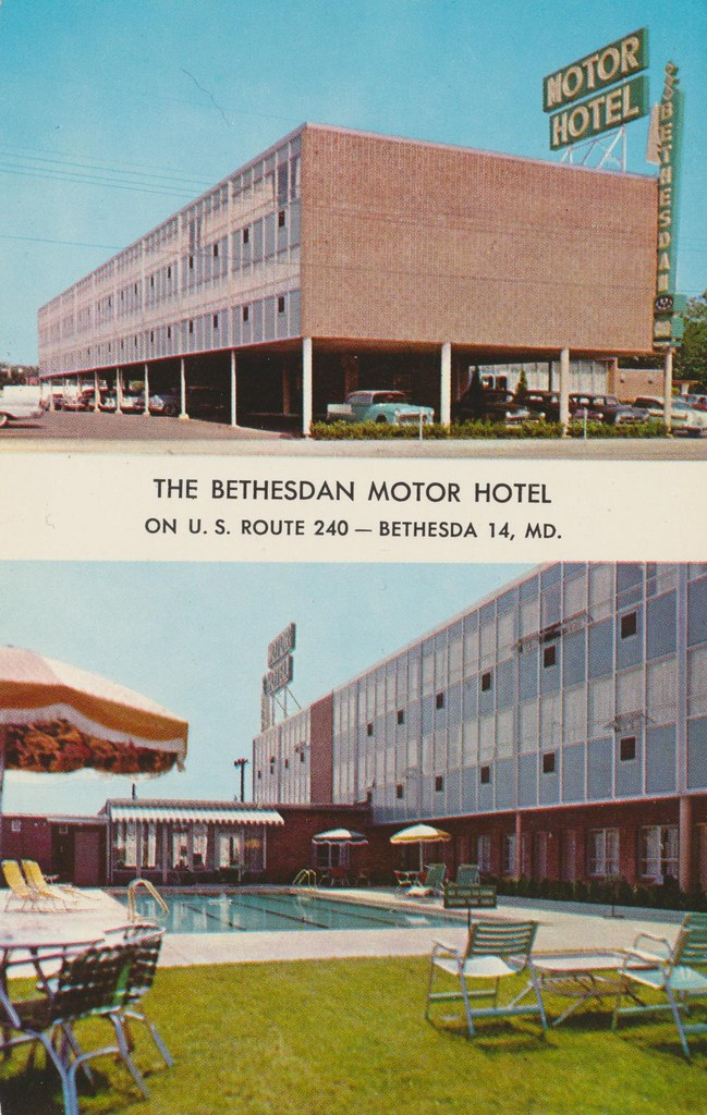 The Bethesdan Motor Hotel - Washington, D.C.
