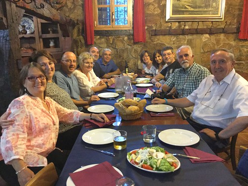 Cena 2015 con Promoción Magisterio Ciencias 1983 Bilbao