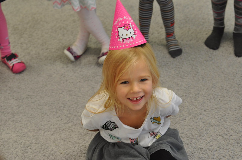 urodziny Amelki - motylki