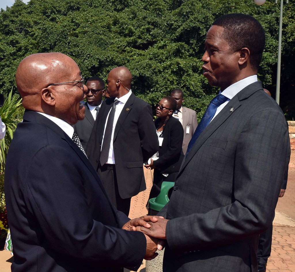 President Of Zambia Visits South Africa 8 Dec 2016 Flickr