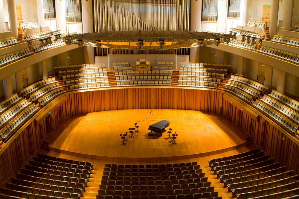 Image of interior of concert hall