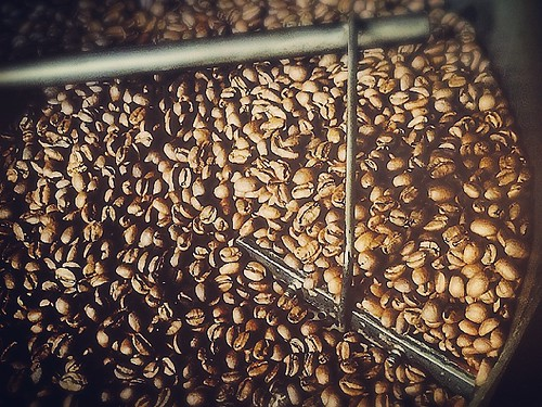 Sunday coffee roasting happiness