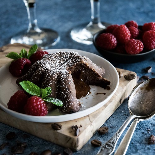 chocolate mocha lava cakes