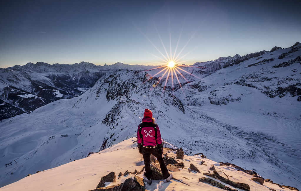 On top of the world follow me on facebook for Best pic in the world