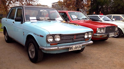 Datsun 1300, built in Chile - Santiago, Chile