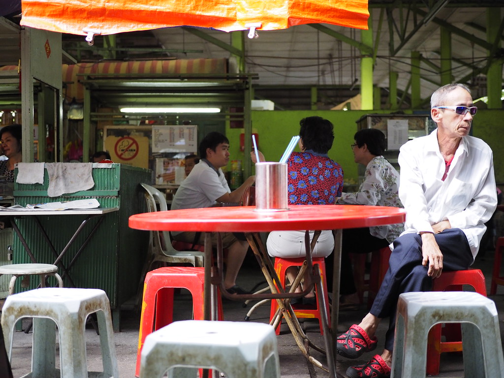 吉隆坡'燕美巴刹'的四哥