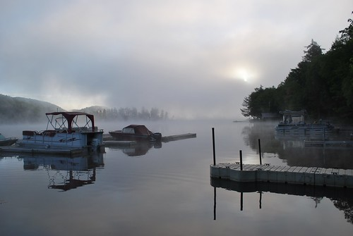 Big Moose Lake at dawn