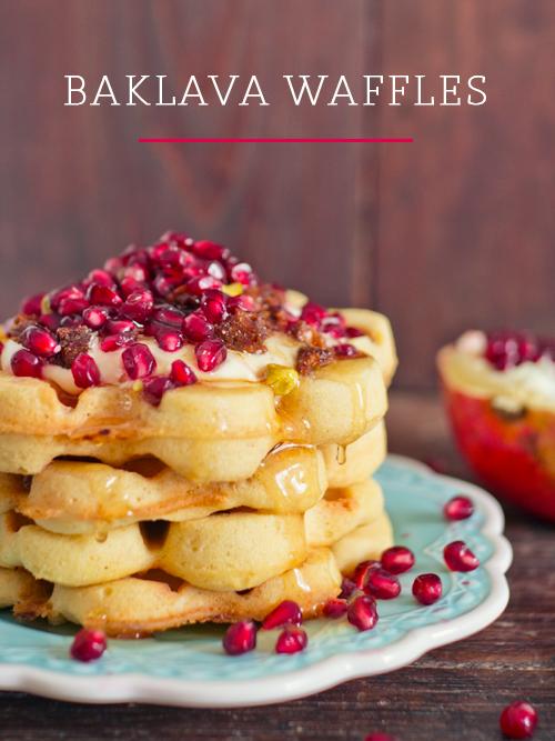 Baklava Waffles | spicyicecream