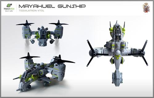 Mayahuel Gunship - DA2 - Angles