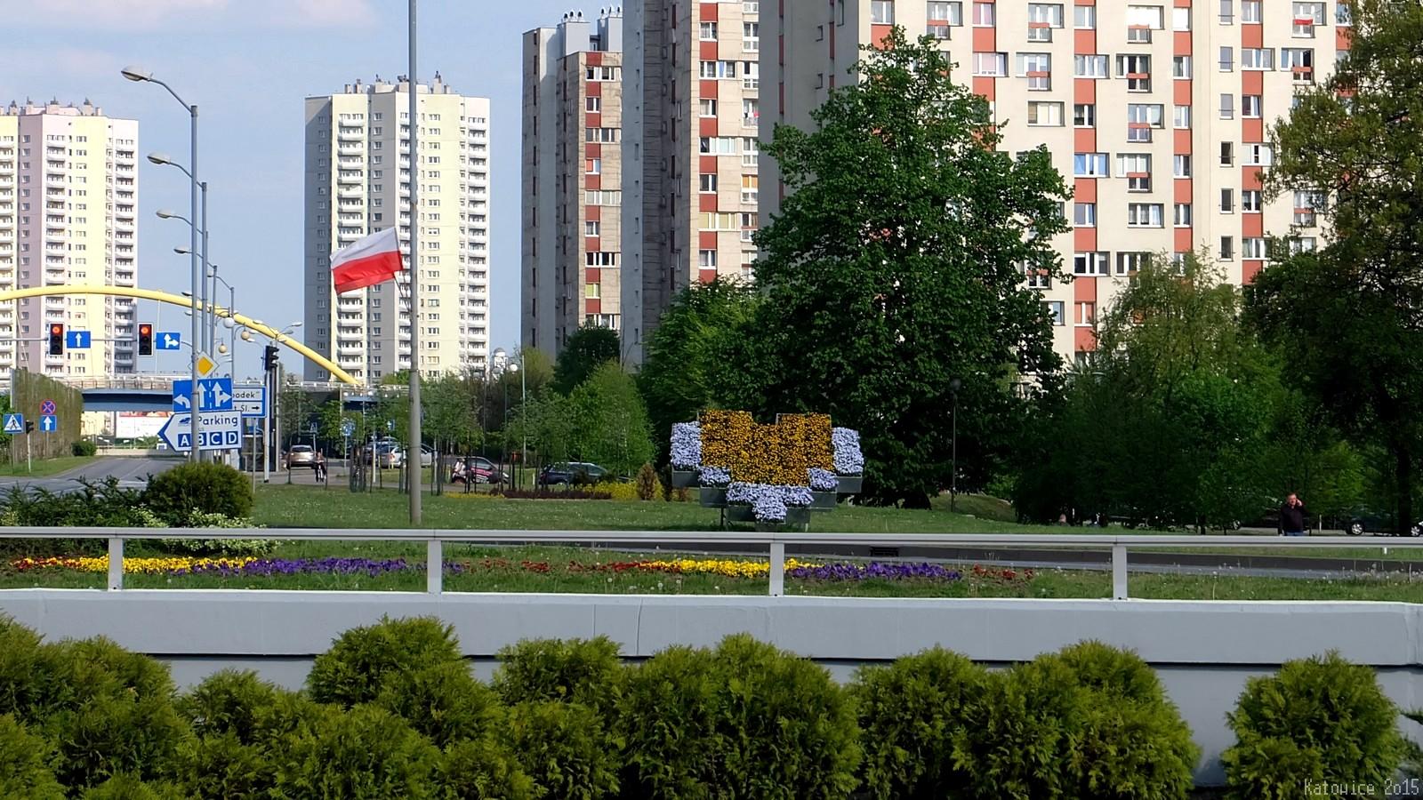 rondo Ziętka, Katowice, Polska