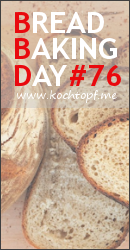 Bread Baking Day #76 - Flatbread/Fladenbrot (Last day of submission August 1, 2015)