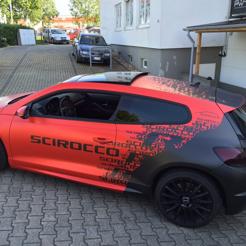 272 Best Images About Cars On Pinterest: #VW #scirocco #rline #design #foiled #paintisdead #folie