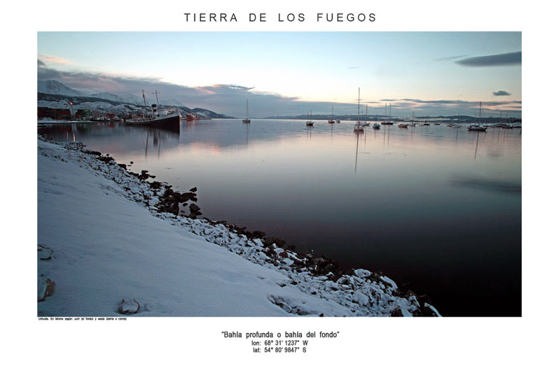 « Tierra de los Fuegos » de Thierry Dupradou. Los Dominicos Artesanalcentro.